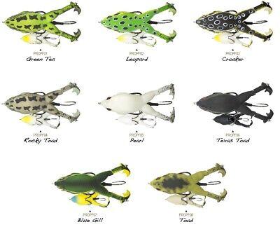 Lunkerhunt Prop Frog Topwater Frog   Assorted Colors