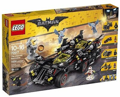 Lego The Ultimate Batmobile The Lego Batman Movie 70917