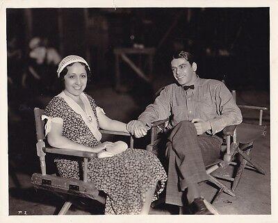 Paul Muni Original 1932 Candid Scarface Studio Set Vintage Warner Bros  Photo