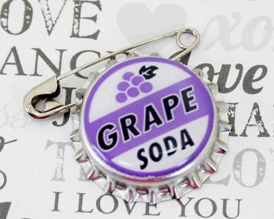 Disney Pixar Up Grape Soda Cap Pin Ellie Badge  LP Wedding Prom Engagement Favor