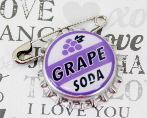 Disney Pixar Up Grape Soda Cap Pin Ellie Badge - Wedding Prom Engagement Favor