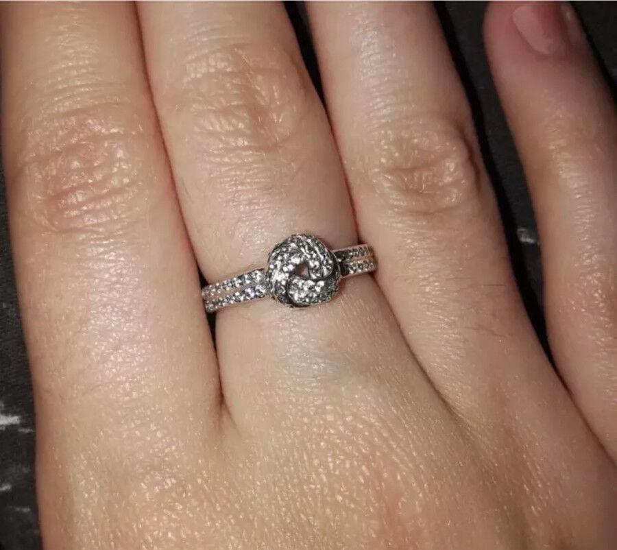 Pandora knot ring size 54!