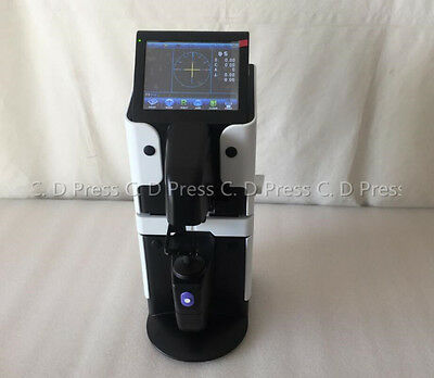 New 5.6 Touch Screen Optical Digital Auto Lensmeter Lensometer Pd Uv Print