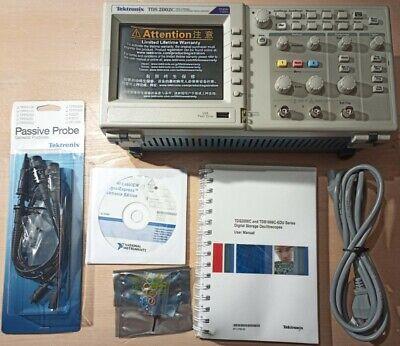 Tektronix Tds 2002c Oscilloscope Knight Electronics Ml 2010 Lab Multimeter