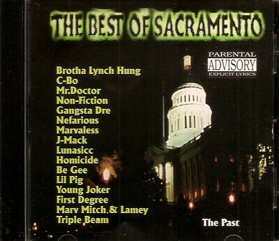 THE BEST OF SACRAMENTO - The Past (CD Album 1998) Sac Rap BROTHA LYNCH
