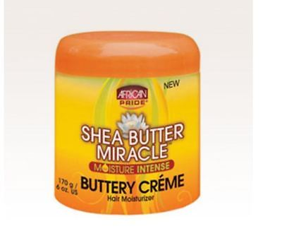 African Pride Shea Butter Miracle Moisture IntenseButtery Creme hair Moist (African Pride Miracle Creme)