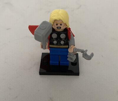 LEGO Marvel Super Heroes Thor 2 Faces Minifigure From 76018 Hulk Lab Smash