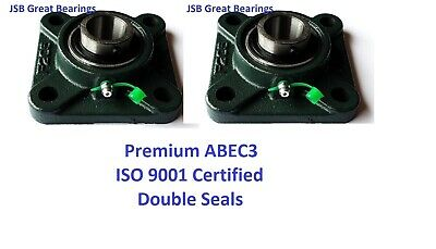 Q.2 Premium Ucf204-12 Double Seal Abec3 Square Flange Bearings 34 Bore Ucf204