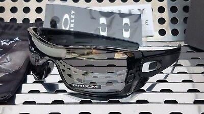 New Oakley BATWOLF Sunglasses 9101-5727 Black Ink w/ Prizm Black Iridium