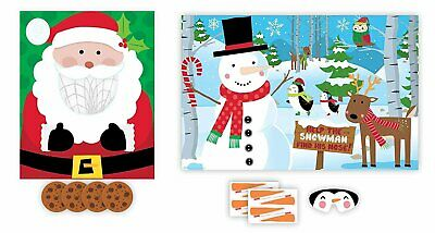 Christmas Party Games for Kids - 2 Holiday Games: Pin The Nose on the Snowman... - Party Games For Christmas