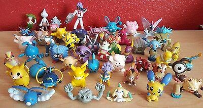 Lot of 51 Pokemon PVC Figures Vintage Tomy Pikachu Octillary Tangela Venomoth