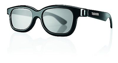 Toshiba 3DGLA4PK Black Passive 3D Glasses Pack Of 4 Works with any passive 3D TV