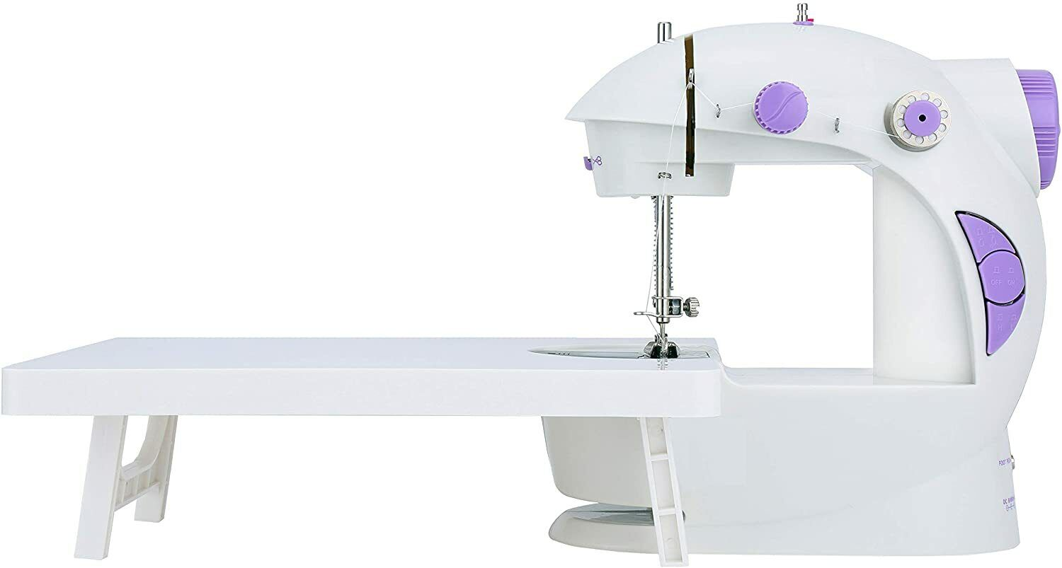 Mini Sewing Machine with Extension Sewing Handheld Sewing Lightweight Crafts