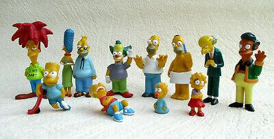 12 SIMPSONS Figuren Ideal Fox 1999 Sideshow Bob,Marge,Homer,Bart,Margie,Apu,etc.