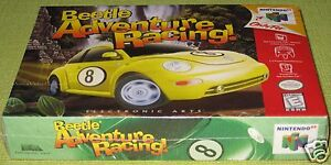 Beetle Adventure Racing  (Nintendo 64) ..Brand NEW!!