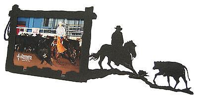 Cutting Horse Picture Frame 3.5x5 - 3x5 H - Cow - Calf