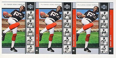 24ct Roddy White 2005 Upper Deck Football Rookie Premiere Rc Card Lot 7 on Sale