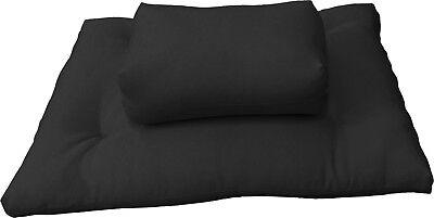 Used, Black Zabuton Zafu Set, Yoga Meditation Relax, sitting, kneel cushion, seat for sale  El Monte