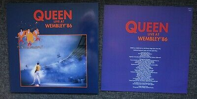 queen - live at wembley'86 (2LP, Gatefold, Inserts)