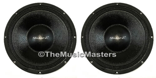 "Pair 12"" inch 8 ohm HQ WOOFERS Bass Speaker Studio Home Cabinet Sub Replacements"