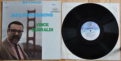 Vince Guaraldi-Jazz Impressions-Fantasy ST 1977 reissue-Eddie Duran-Dean Reilly