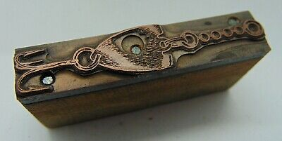 Printing Letterpress Printers Block Fishing Lure