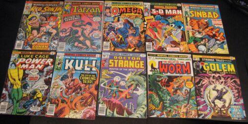 Wow! BIG Lot of *90* HIGH-GRADE 1970s (Bronze) MARVEL Comics! Heroes/Oddballs++