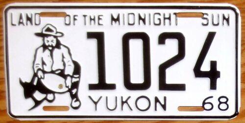 1968 Yukon License Plate Number Tag – NICE PLATE
