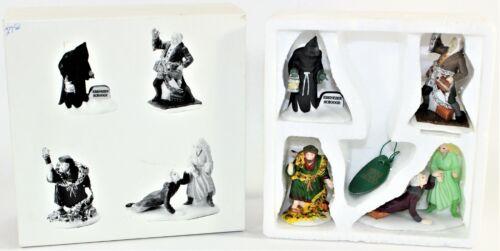 Dept 56 Heritage Village Collection Scrooge CHRISTMAS CAROL SPIRITS Set of 4