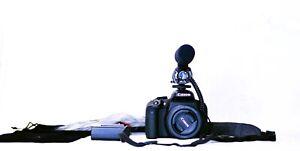 Canon Rebel EOS T7i 800D + 50mm 1.8 STM + Taskar Microphone