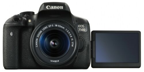 Купить Canon - Canon EOS Rebel T6i / 750D DSLR Camera + EF-S 18-55mm IS STM Lens *Brand New*