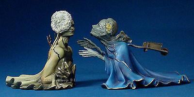 """SALVADOR DALI  """"Tristan und Isolde""""- prachtvolle, zweiteilige MUSEUMS Skulptur"""