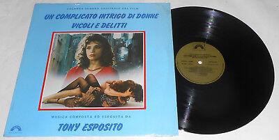 UN COMPLICATO INTRIGO DI DONNE VICOLI E DELITTI TONY ESPOSITO LP (Un Complicato Intrigo Di Donne Vicoli E Delitti)