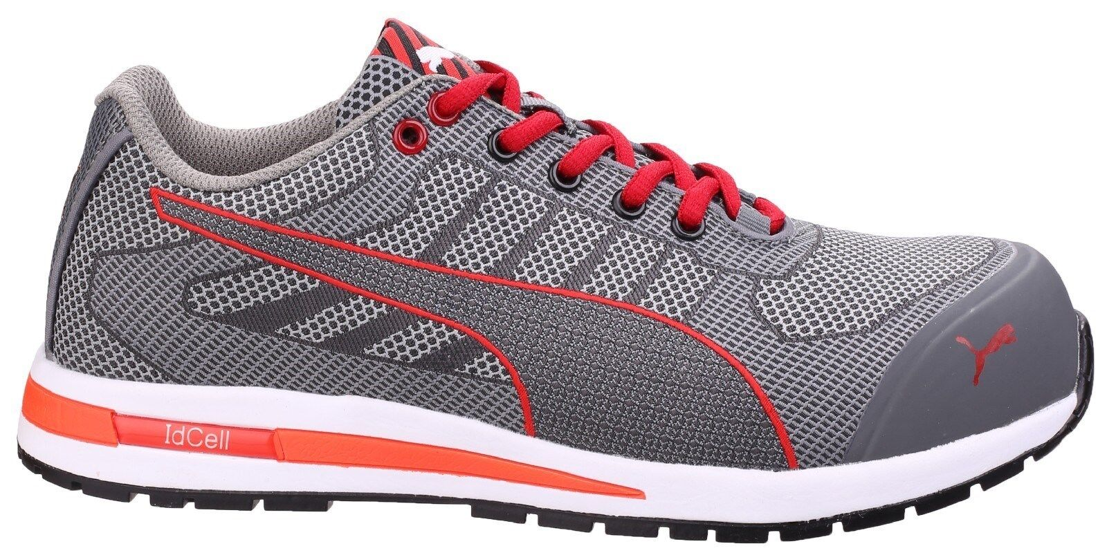 24e4e403f85501 Puma Xelerate Knit Low Safety Trainers Mens Industrial Composite Toe Work  Shoes