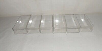 Set of 6 Akro Mills Plastic Replacement Drawers #20-330