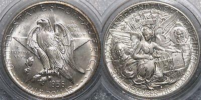 50 cent 1936-S Texas Independence USA BUNC
