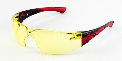Radians Obliterator Yellow Blackred Safety Glasses Sunglasses Z87