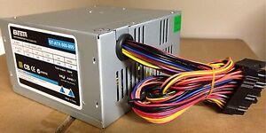550W 8cm fan Power Supply P4 / AMD ATX 24&20pin, 3 xSATA, 1 x PATA, (4+4) +12V