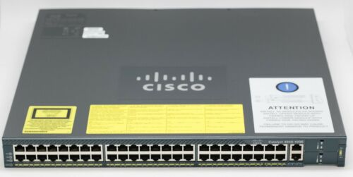 New Cisco Catalyst 4948 10 Gigabit Ethernet Switch - Switch - Managed - 48 Ports