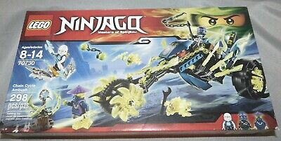 LEGO Ninjago Possession: Chain Cycle Ambush (70730) NIB 2015 Set NEW SEALED
