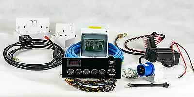 Full Campervan/Motorhome Electrical Conversion Kit Split-Charge Hook-up 12V 240V