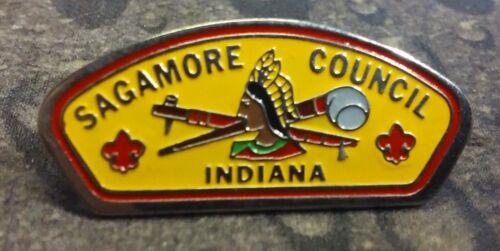 Sagamore Council Indiana BSA pin badge Boy Scouts