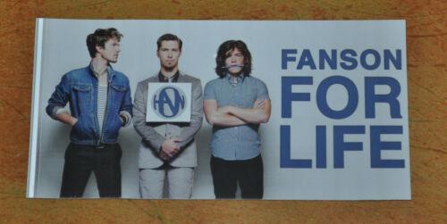 Hanson Shout It Out Fanson For Life Sticker!