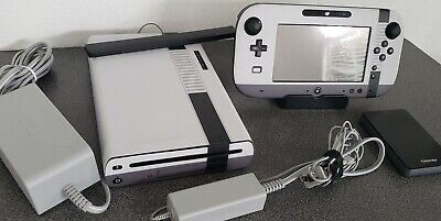 Nintendo Wii U 32GB Deluxe Console Many Games LOT Installed Pokemon Mario Zelda!