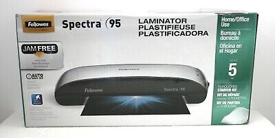 """FELLOWES SPECTRA 95 THERMAL (9.5"""" Width) LAMINATOR (CRC57382)*NEW in RETAIL BOX"""