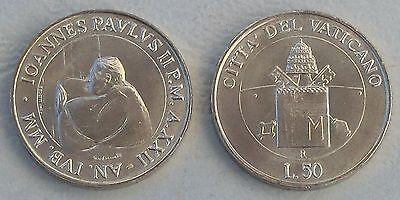 Vatikan / Vatican City 50 Lire 2000 p325 unz.