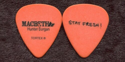 A FIRE INSIDE AFI 2011 Tour Guitar Pick!!! HUNTER BURGAN custom concert stage