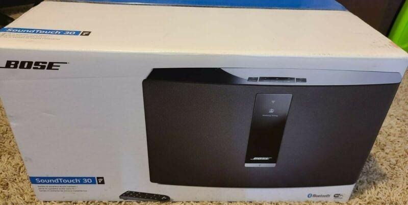 Bose SoundTouch 30 Series III Wireless speaker Music System - Black - Free Shipp