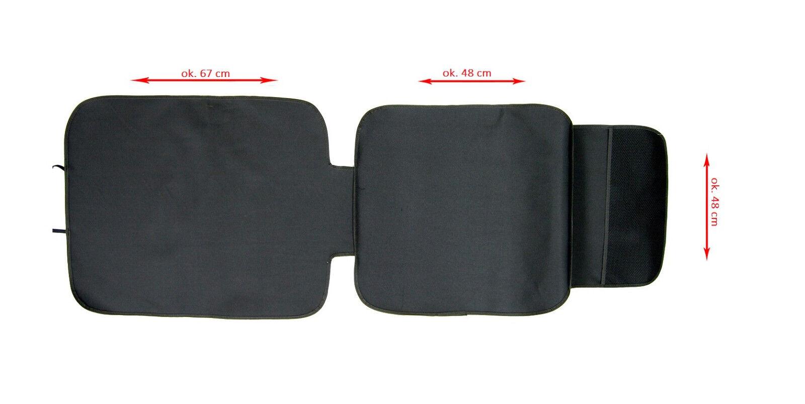 Kindersitzunterlage Schutzmatte Autositzauflage Rückenlehnenschutz Unterlage