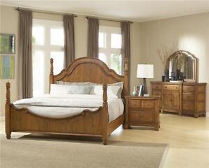 broyhill attic heirlooms heritage queen poster bed bedroom